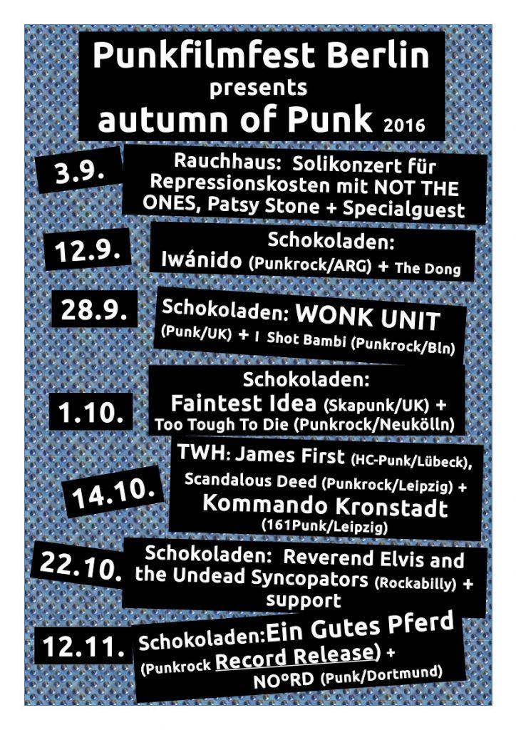 Punk im Herbst in Berlin!