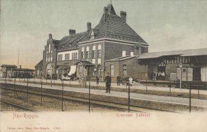 Der Bahnhof im Jahre 1905